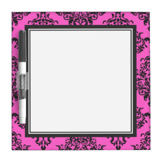 Traditional Customizable Color Damask Dry Erase Whiteboards