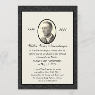 White Death Gifts Invitations Zazzle
