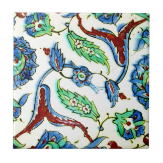 Traditional Decorative Turkish Antique Ottoman Era Ceramic Tile