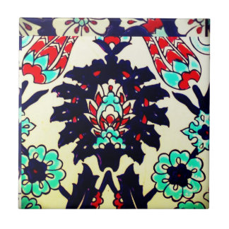 Traditional Decorative Turkish Antique Ottoman Era Tile