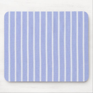 """Traditional Designs"" Oxford Stripe Periwinkle Mouse Pad"