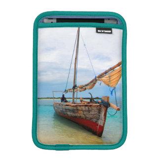 Traditional Dhow, Zanzibar, Tanzania Sleeve For iPad Mini