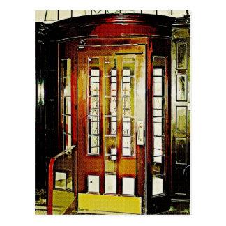 Traditional Doorway Postcard