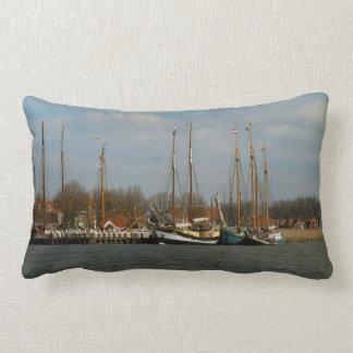 Traditional Dutch Sailing vessels, Enkhuizen Pillow