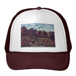 Traditional Fairground By Bol Hans Trucker Hat