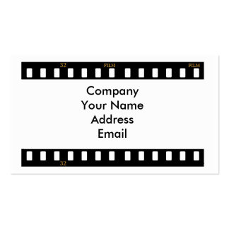 Traditional Film Business Card