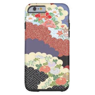 Traditional Floral design for iPhone 6 case