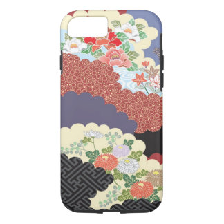 Traditional Floral design for iPhone 7 case