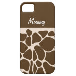 Traditional Giraffe Print iPhone 5 Casemate Case iPhone 5 Cover