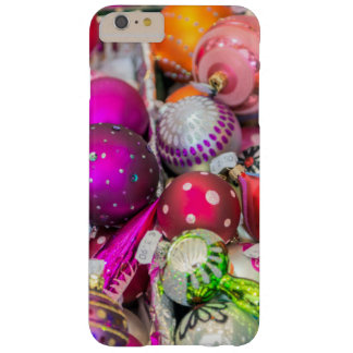 Traditional Glass Ornaments At Christmas Market Barely There iPhone 6 Plus Case