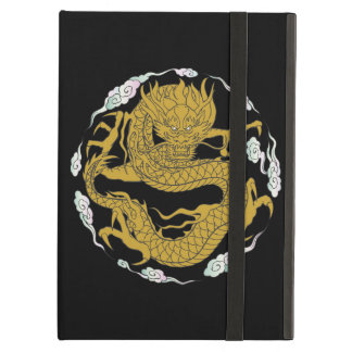 Traditional Gold Dragon Cover For iPad Air