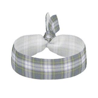 Traditional Gordon Dress Tartan Plaid Head Band Elastic Hair Tie
