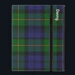 "Traditional Gordon Tartan Plaid iPad 2/3/4 Case<br><div class=""desc"">Great looking folio style iPad 2/3/4 case done in the traditional blue,  green,  and yellow Gordon tartan plaid pattern. Personalize the white text to read what you want.  Makes a great personalized gift idea.</div>"