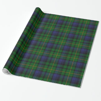 Traditional Gordon Tartan Plaid Wrapping Paper