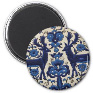 Traditional Greek Ceramic Tiles Magnet