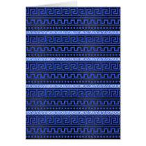 Traditional Greek Meander Pattern
