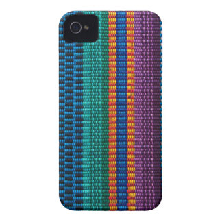 Traditional Guatemala fabric weave Case-Mate iPhone 4 Cases