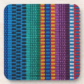 Traditional Guatemala fabric weave Coaster