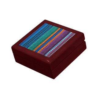 Traditional Guatemala fabric weave Gift Boxes