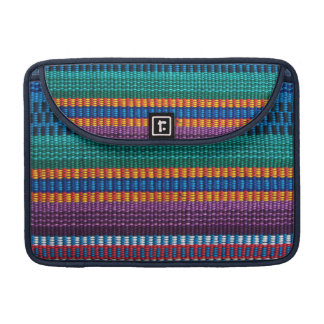 Traditional Guatemala fabric weave Sleeve For MacBooks