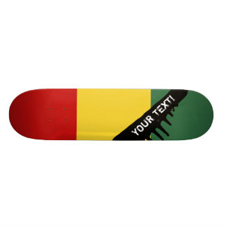 Traditional Guinea Flag Skateboard Deck