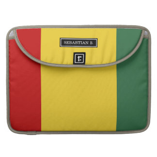 Traditional Guinea Flag Sleeve For MacBooks