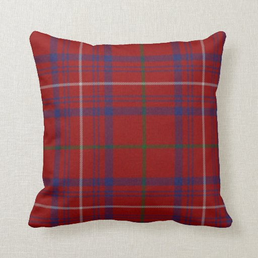 Traditional hamilton tartan plaid pillow Define plaid