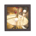 Traditional handcrafted brass orrery with the premium keepsake boxes