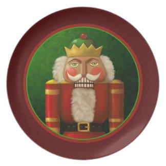 Traditional Holiday Nutcracker Plate