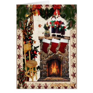 Traditional Home Felt! Greeting Cards