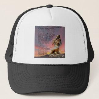 Traditional Indian prayer Trucker Hat