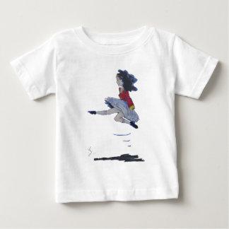 Traditional Irish Dancing Cartoon Baby T-Shirt