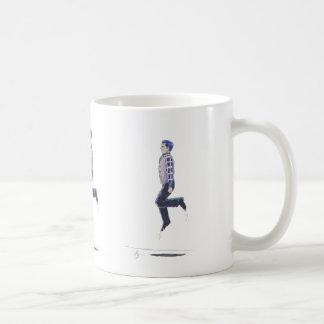 Traditional Irish Dancing Cartoon Coffee Mug