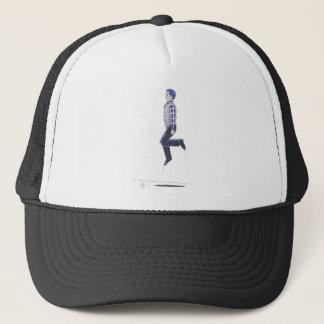 Traditional Irish Dancing Cartoon Trucker Hat
