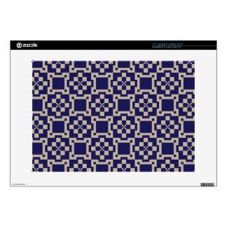 Traditional Japanese Block Pattern Laptop Skins