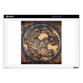 "Traditional Japanese Oriental Dragon - 日本 - 鳴き龍 17"" Laptop Skins"