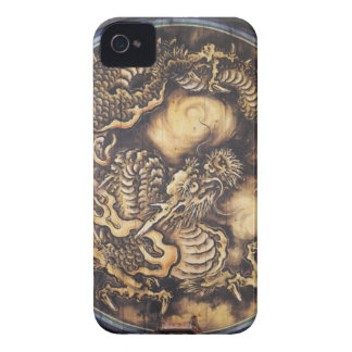 Traditional Japanese Oriental Dragon - 日本 - 鳴き龍 iPhone 4 Cover