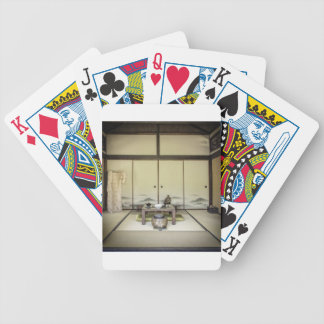 Traditional Japanese Room Card Deck
