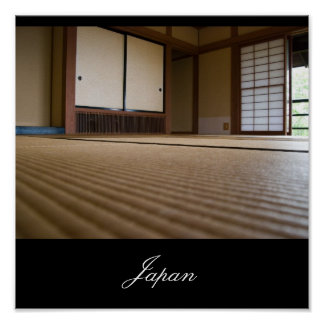 Traditional Japanese Room, Images from Japan Poster