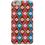 Traditional Japanese Style Village Floral Pattern Barely There iPhone 6 Plus Case
