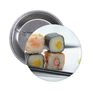 Traditional Japanese Sushi Button