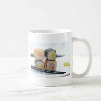Traditional Japanese Sushi Coffee Mug