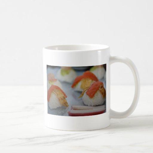 Traditional Japanese Sushi Mug