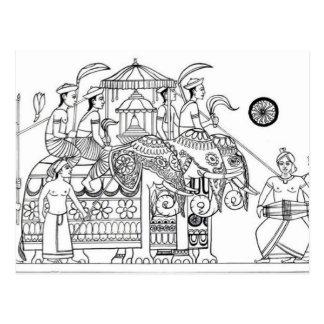 Traditional Kandy Possession Kandy Sri Lanka Postcard