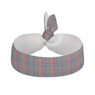 Traditional Kilgour Tartan Plaid Head Band Hair Tie