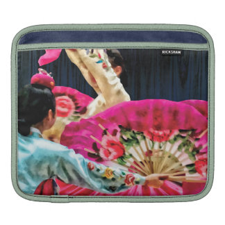 Traditional Korean Fan Dance Sleeves For iPads