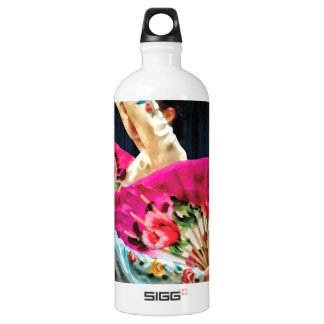 Traditional Korean Fan Dance Water Bottle