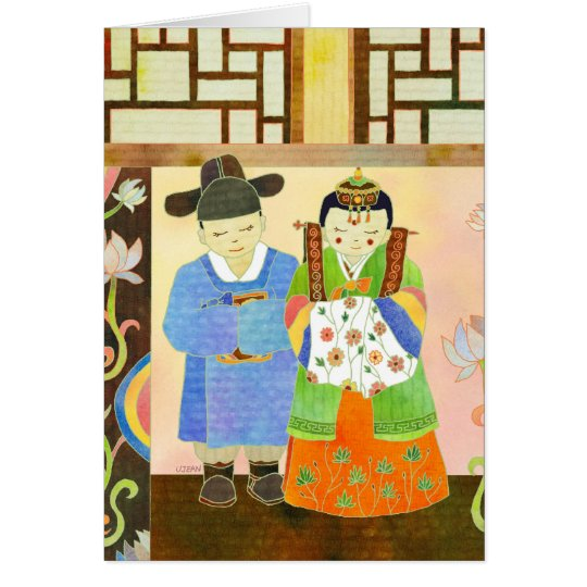 Traditional Korean Wedding(#1) Card