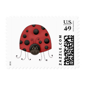 Traditional Lady Bug Stamp