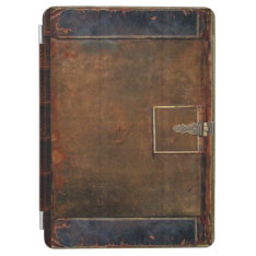 Traditional Leather Book Cover at Zazzle